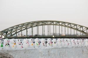 旭川市の雪まつり(2015年)の様子