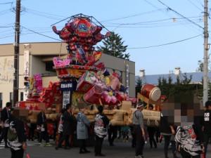 沼田小学校のあんどん2015年