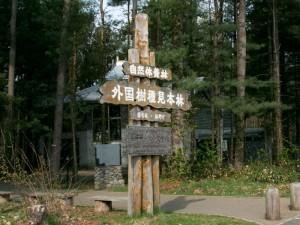 外国樹見本林の入り口