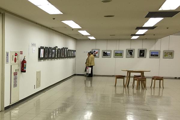 第41回旭川写真連盟展 会場の様子