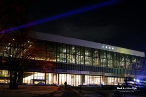 「旭川冬のガーデン」北彩都ガーデン(JR旭川駅南側)で開催中。