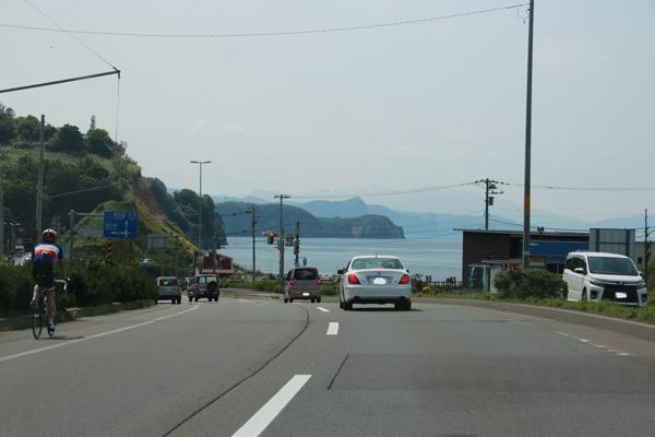 小樽から見た石狩湾