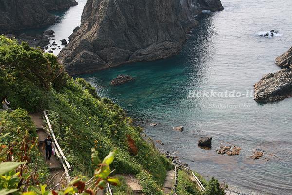 島武意海岸(しまむいかいがん)