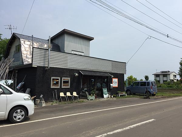「田んぼの中のcafeヒノデ商店」外観