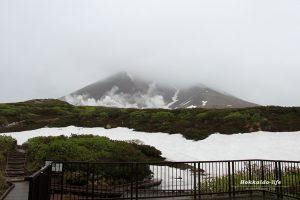 雨の旭岳をちょびっと一周してきました。