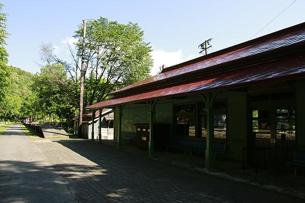 旧函館本線 神居古潭駅 駅舎
