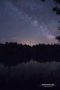 天の川を肉眼で見た夜