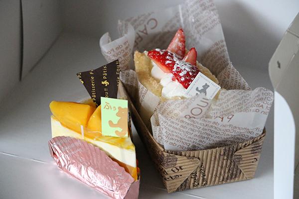パティスリーフゥ!!のケーキ