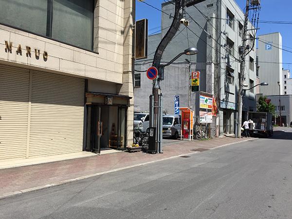 竹ちゃん鮨本店の外観