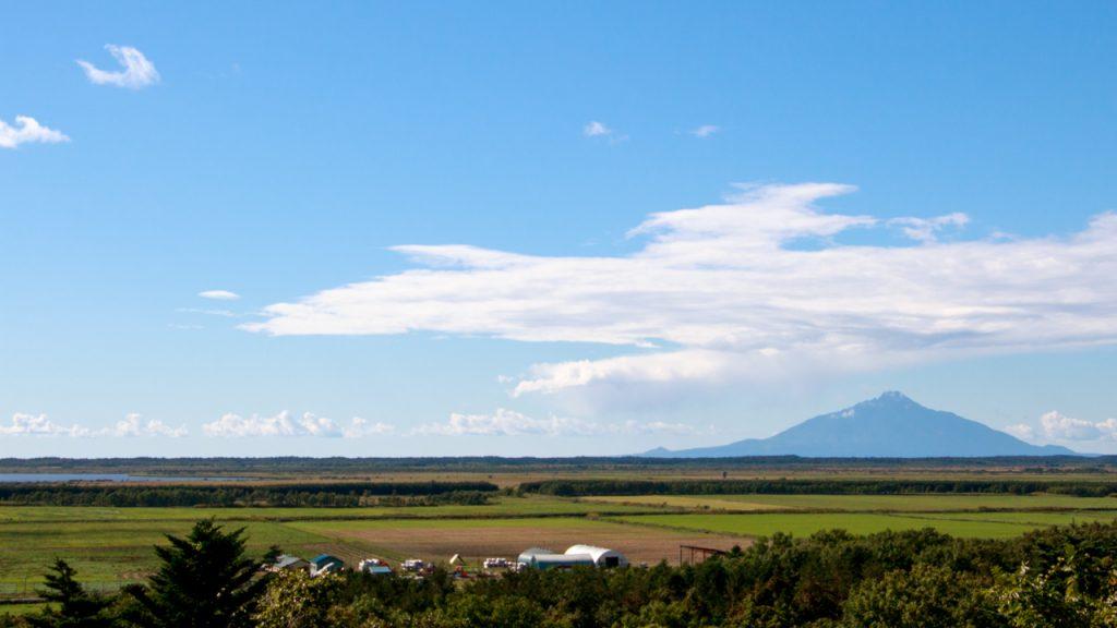 名山台展望台から見た利尻富士