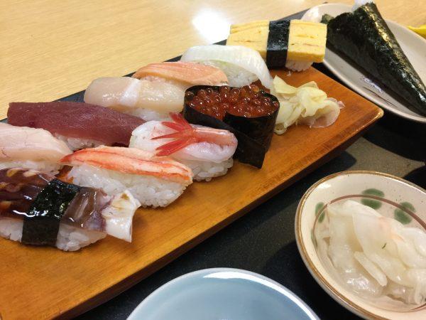 大番寿司のランチ「満腹」
