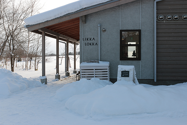 美瑛町のパン屋・カフェ「LIKKA LOKKA(リッカ・ロッカ)」外観
