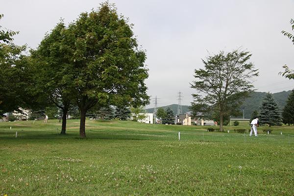 忠和公園(旭川市内)のパークゴルフ場