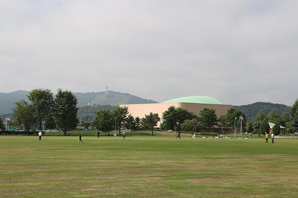 忠和公園(旭川市内)の多目的広場