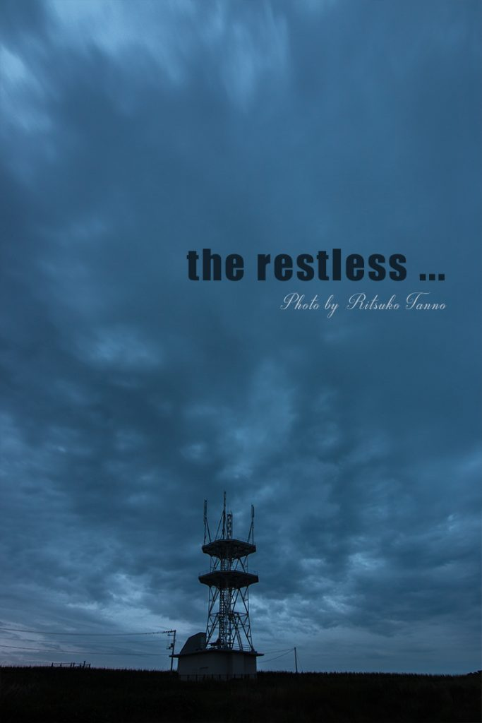 カメラ散歩の写真「the restless ...」