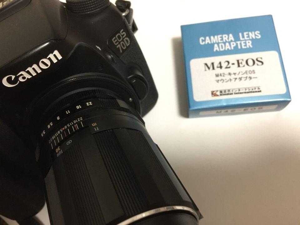 super takumar 135mm f3.5とキヤノンEOS 70D